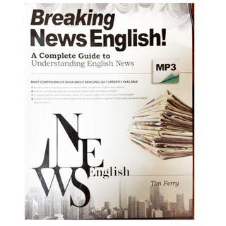 🚚 breaking news English 新聞英文 教課書