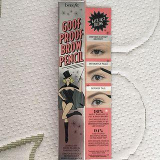 New Benefit Goof Proof Eyebrow Pencil - SHADE 3 Medium