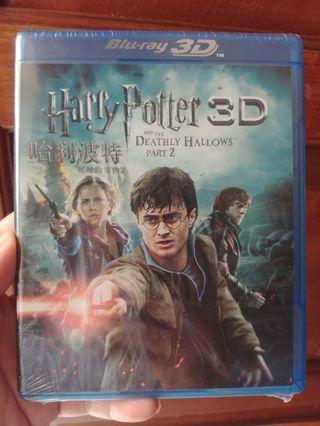 Harry Potter and the Deathly Hallows part 2 3D Blu-ray 哈利波特 死神的聖物 2
