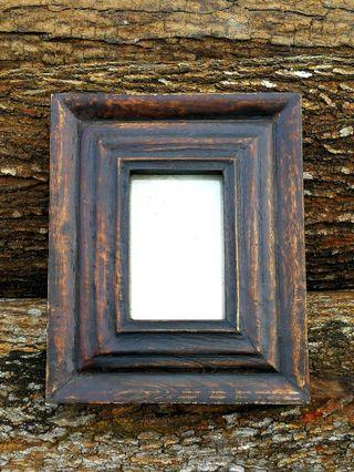 🇮🇳 THICK WOODEN PICTURE / PHOTO FRAME