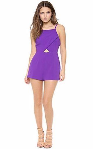 Bec and Bridge Jumpsuit Purple