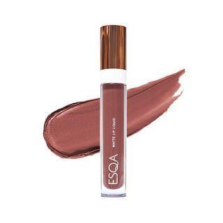 ESQA Matte Lip Liquid Mauvy Nude Lipstick