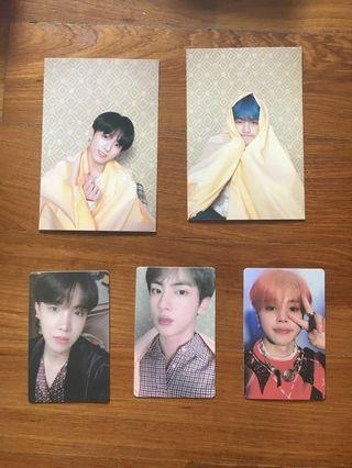 < WTT/WTB >BTS persona: map of the soul photocard
