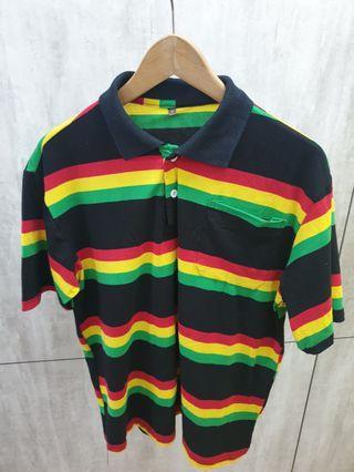 Reggae Rasta Polo T-Shirt