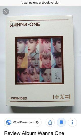[WTB] Wannaone album art book