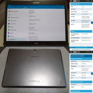 GALAXY TAB S 10.5 SM-T805YMINT CONDITION AS NEW