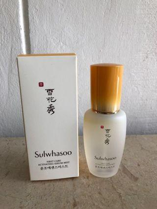 🚚 Sulwhasoo First Care Activating Serum Mist