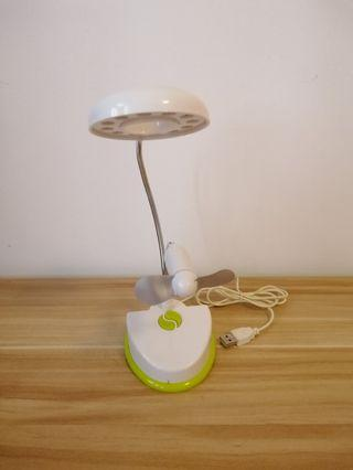 🚚 USB table lamp and fan