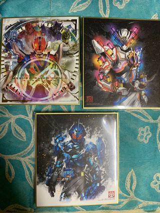 幪面超人Kamen rider色紙