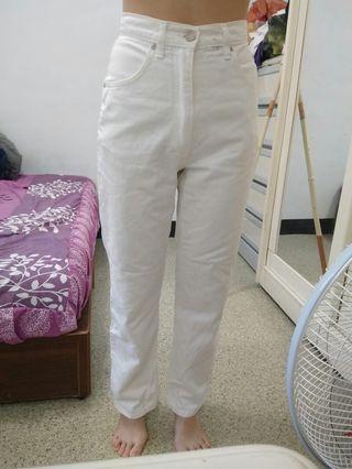 🚚 正版LEE高腰復古直筒牛仔褲
