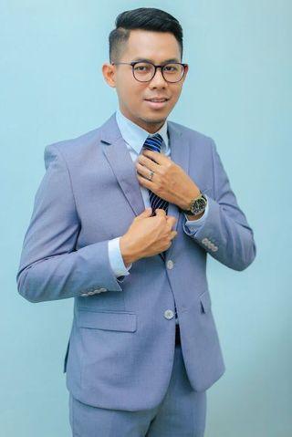 Sewa blazer 1 set (blazer + pant + tie)