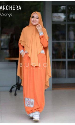 Gamis Sporty set by Bugio clothing