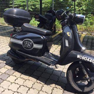 Scomadi TL125 2016 (FREE RM800 GIFT BAG + LOW MILEAGE)