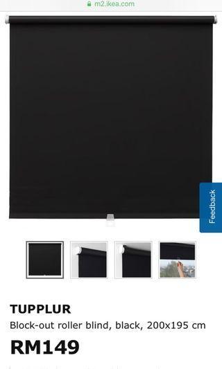 Blackout blind- TUPPLUR IKEA