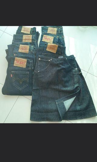 #EndgameYourExcess Various Levi's Jean's and Engineer Jean's skirt Sweater