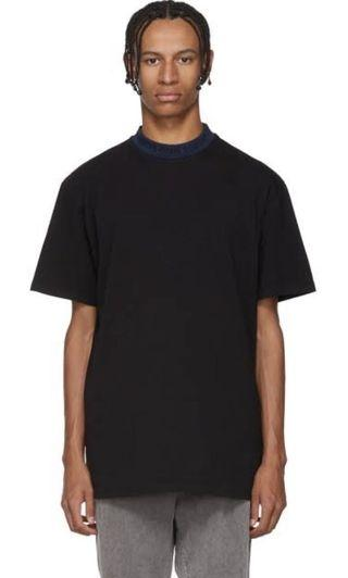 ACNE STUDIOS gojina t-shirt black/navy