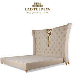 Majestic Curvature Tufted Bed Frame