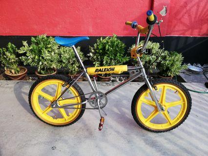 Vintage 80's BMX Li-Lo Supersports Tornado with Taiwan Mags Bicycle