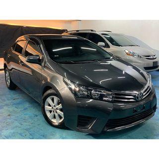 正2014年 最新款Toyota Altis 1.8E  實車實價只賣33.8萬