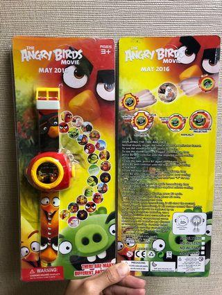 Angry Bird Projection Watches
