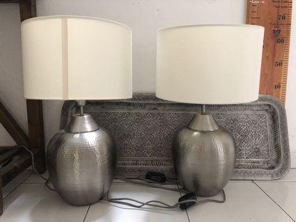Two IKEA lamps