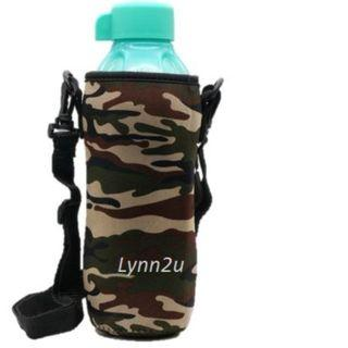Tupperware Eco Bottle (1) 750ml L (Sea Green) + Camouflage Pouch (1)