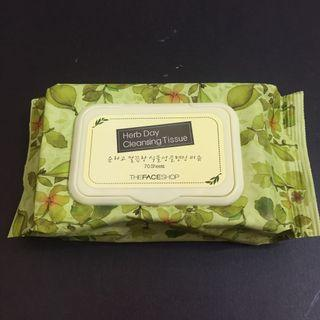 Face Shop Cleansing Wipes