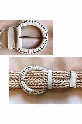 White woven Belt #endgameyourexcess