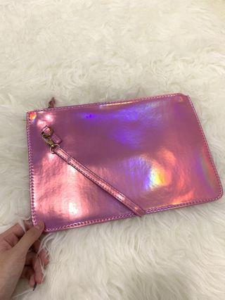 Laneige Pouch Hologram Pink