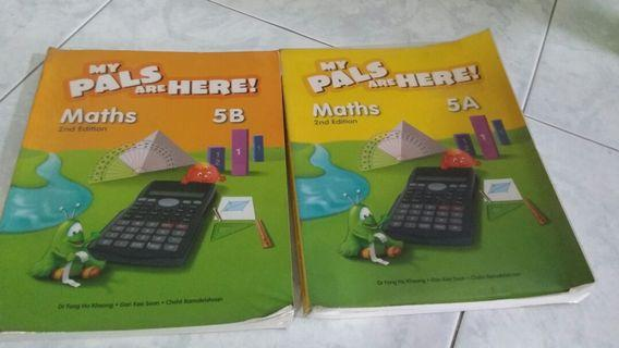 My Pals are Here Maths Textbook 5 A and 5 B