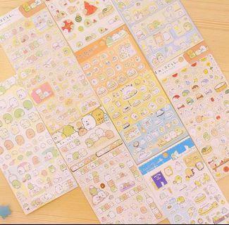Cute Japanese Cartoon Stickers | sumikko gurashi