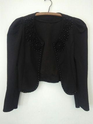 Black Cardigan / Blazer