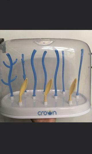 Crown drying rack/rak botol .free ongkir!