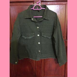 women jacket (green)