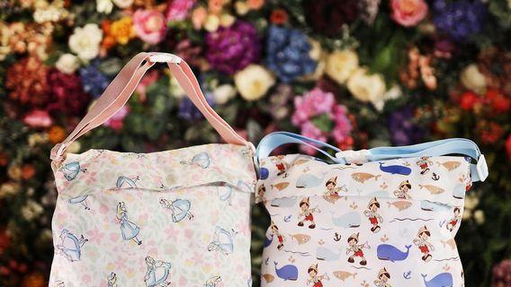 711 最新一期愛麗絲 小木偶旅行環保袋