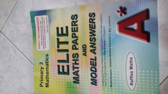 🚚 P3 Maths Elite Maths Papers and Model Ans Raffles Maths A star