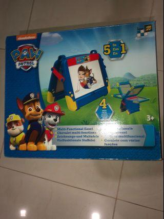 Sale of Pre-Owned Paw Patrol 5 in 1 Magnetic Drawing Board