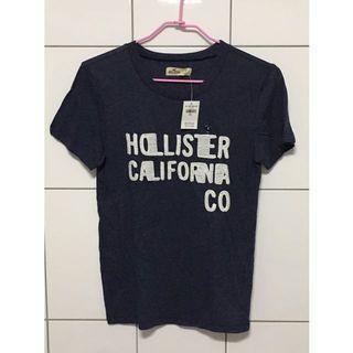 Hollistor 深藍色短袖上衣
