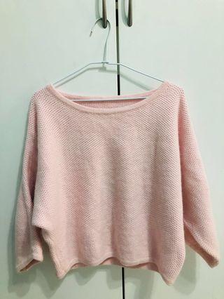 🚚 粉色毛衣