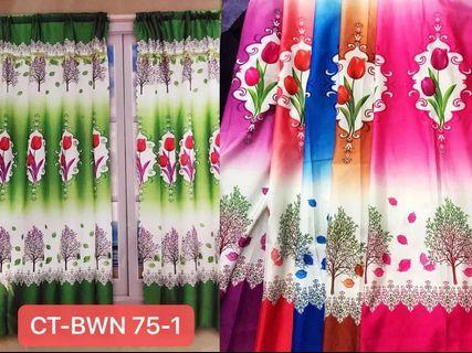 Langsir Curtain murah cantik