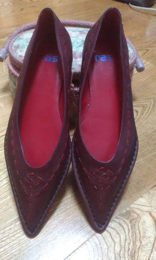 西班牙ras手工真皮鞋
