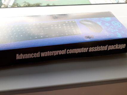 防水鍵盤及光學滑鼠 Keyboard and mouse