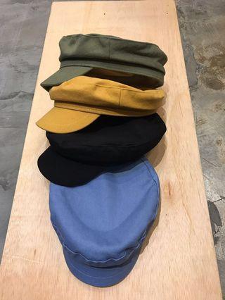 17dfd6d1c64d0 In stock! Unisex Fiddler Cap Army Cadet Cap Baker Boy Hat