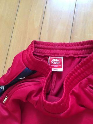 🚚 Kappa 串標紅色長褲👖