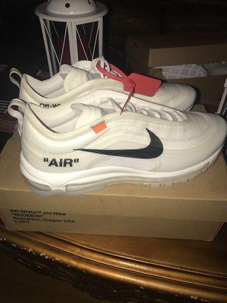 Nike Off-White Air Max 97 OG Size 12