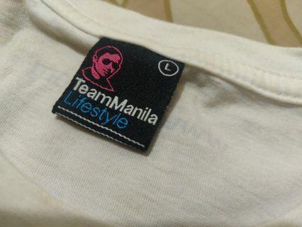 Team Manila White Shirt