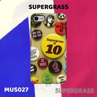 Custom Case Band SUPERGRASS (MUS027)