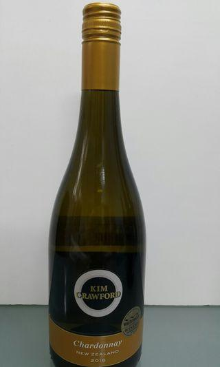 Kim Crawford unoaked chardonnay 2016 750ml New Zealand white wine