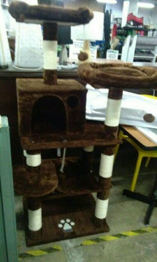 Multilevel Cat House Cat Tree