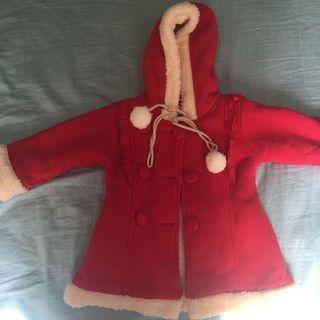 耶誕紅外套